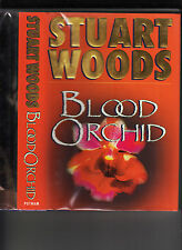 STUART WOODS-BLOOD ORCHID-SIGNED LIKE NEW 1ST 2002 HB/J FLORIDA POLICE MYSTERY