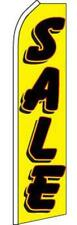 Super 15' Ft Swooper Yellow Sale Flag advertizing banner Tall Sign Super #790