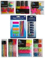 Novelty PENS & ERASERS - Rubber Pencil Children Gift School Home Office {Anker}