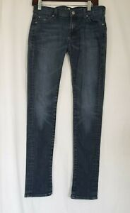 7 For All Mankind Roxanne Skinny Ankle Jeans 28