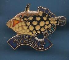 Pin's pin POISSON TROPICAL TACHETE  Aquarium de La Rochelle (ref 032)