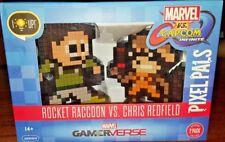 Pdp Pixel Pals Marvel Rocket Raccoon Vs Capcom Chris Redfield Special Edition