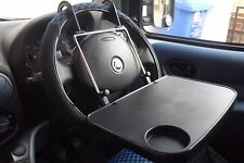 Car Van Back Seat Steering Wheel Table Food Tray Travel Laptop Work Station AC09