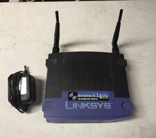 Linksys WRT54G v1.1 Wireless-G 4-Port 10/100 Router 54 Mbps