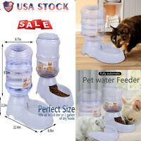 Pet Waterer Feeder Automatic Waterer Dog Water Dispenser 1 Gal Cat Dog Dispenser