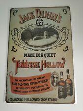 Jack Daniels Retro Style Tin Sign, Home Bar, Mancave, 006