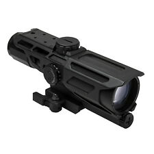 NcStar GEN3 3-9X40 Illuminated P4 Sniper Mark III QR Weaver Tactical Rifle Scope
