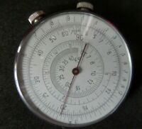 Vintage Slide Rule KL-1 Russian USSR Engineer Logarithmic Mathematical Circular