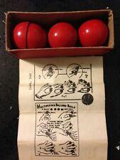 Multiplying Billard Balls Vintage German Vgc