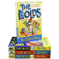 The Bolds 4 Books Children Collection Paperback By Julian Clary