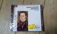 CD FRANZ SCHUBERT / JENÖ JANDO - MOMENTS MUSICAUX IMPROMPTUS / neuf & scellé