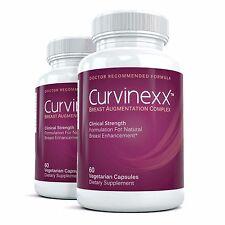 2x CURVINEXX Clinical Strength Breast Augmentation Supplement - Bust Enhancement