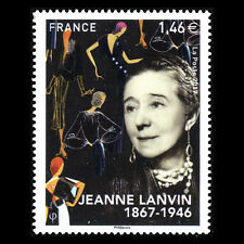 """France 2017 -Anniversary of the Birth of Jeanne Lanvin """"1867-1946"""" - Sc 5306 MNH"""
