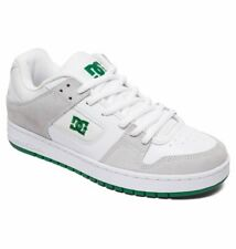 Tg 42 - Scarpe Uomo Skate DC Shoes Manteca White Green Sneakers Schuhe 2019