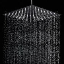 20 inch Black Matte Led Sqaure Shower Head