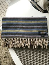 BROOKS BROTHERS luxury100% Cashmere Scarf NEW WITHOUT TAG