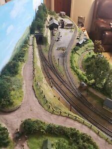 OO Gauge Layout GWR Branchline Bachmann Hornby exhibition model railway train