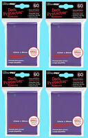 240 Ultra Pro DECK PROTECTOR Card Sleeves PURPLE YuGiOh Small Size Gaming NEW