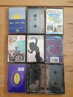 audio music cassette tapes DANCE bundle joblot x 9 tapes