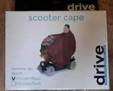 Drive Waterproof Lightweight Rain Coat Mobility Scooter Hooded Cape Mac Poncho