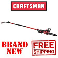 New CRAFTSMAN 9A Amp Electric Corded POLE SAW Chainsaw 2-in-1 tree trimmer