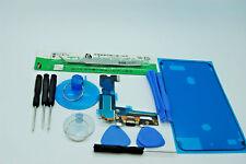 Iphone 7 Plus Negro Kit de reemplazo de Puerto de carga y resistente al agua sello de cinta