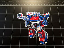 Transformers G1 Smokescreen box art vinyl decal sticker Autobot toy 1980's 80s