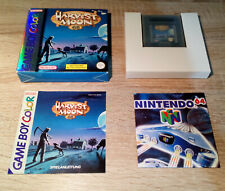 Gameboy (GB) + Color (GBC) // Harvest Moon GB + OVP + Anleitung // dt. PAL CIB