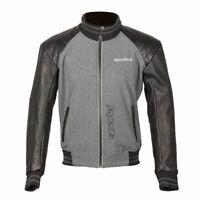 Spada Latour Summer Motorcycle Motorbike Leather Touring Gloves Black//Grey