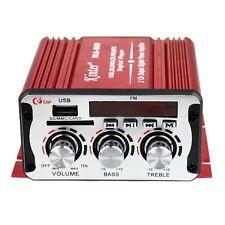 Kinter Car Audio Power Amplifier MA600 SD FM MMC Player 12V Radio Stereo