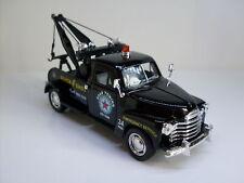 1953 Chevrolet 3100 Wrecker schwarz, Kintoy Auto Modell ca. 1:38