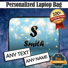 More details for personalised any name laptop case tablet bag sleeve ultrabook chromebook gift