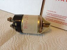 Starter relay from Chrysler/farm implement inventory.  NOS. Item:  6587