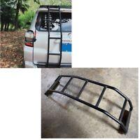 For 10-20 Toyota 4Runner Rear Ladder Gen 5 Black aluminum