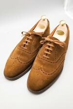 Crockett and Jones for Polo Ralph Lauren Suede Brogues UK 8E US 9D