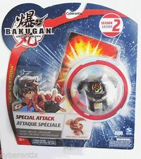 Bakugan Special Attack VANDARUS Black Darkus Heavy Metal Battle Brawler NEW 2009