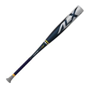 Easton Alpha ALX 2022 BBCOR 1 Piece Aluminum Baseball Bat -3, Black/Gray