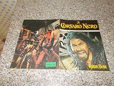 ALBUM IL CORSARO NERO PANDA PLAY 1976 COMPLETO OTTIMO TIPO PANINI EDIS LAMPO