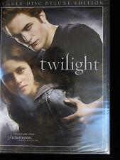TWILIGHT DVD *new in wrapper* 3-DISC DELUXE EDITION Kristen STEWART Billy BURKE