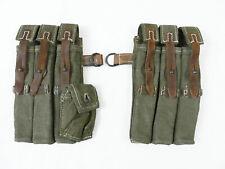 Wehrmacht WW2 MP40 PAAR Magazintasche MP38/40 MP Magazintaschen Spätkrieg