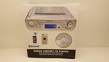 Craig CKR1307 Under The Cabinet CD Player AM-FM Radio with Remote & Manual