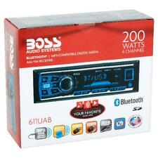 Car Stereo Receiver Audio Bluetooth Enabled Single Din USB SD AUX Radio Black