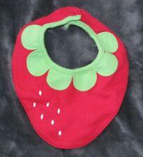 Gymboree Baby Girl Strawberry Bib Infant Reborn Doll 0-3-6-9-12