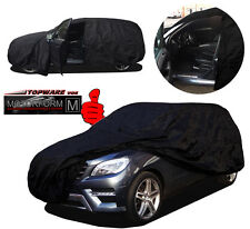 WASSERDICHT SCHWARZ: Hyundai Santa Fe bis'06 OUTDOOR Autoplane Schutzhülle Cover