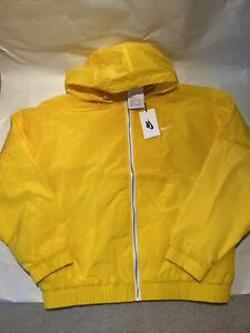 Nike Made in Italy Jacket Opti Yellow CT4585 731 Brand New w/ Tags Rare $400 L