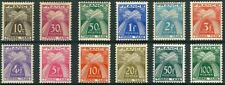 "FRANCE STAMP TAXE YVERT N° 78 / 89 "" SERIE GERBES 12 TIMBRES "" NEUF xx LUXE A171"