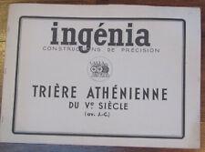 INGENIA Triere Athenienne Ship PAPER MODEL CONSTRUCTION