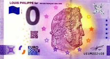 63 CLERMONT-FERRAND Louis-Philippe 1er, 2021, Anniversaire, Billet Euro Souvenir