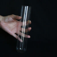 2 Pieces 43x200mm Chemistry Borosilicate Glass Culture Test Tubes Lab Glassware