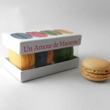 Macaron Gift Box - ready for you to fill with macarons: Small: Pack of 6